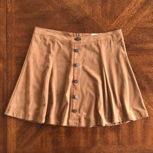 Jolt faux suede skirt country NWOT
